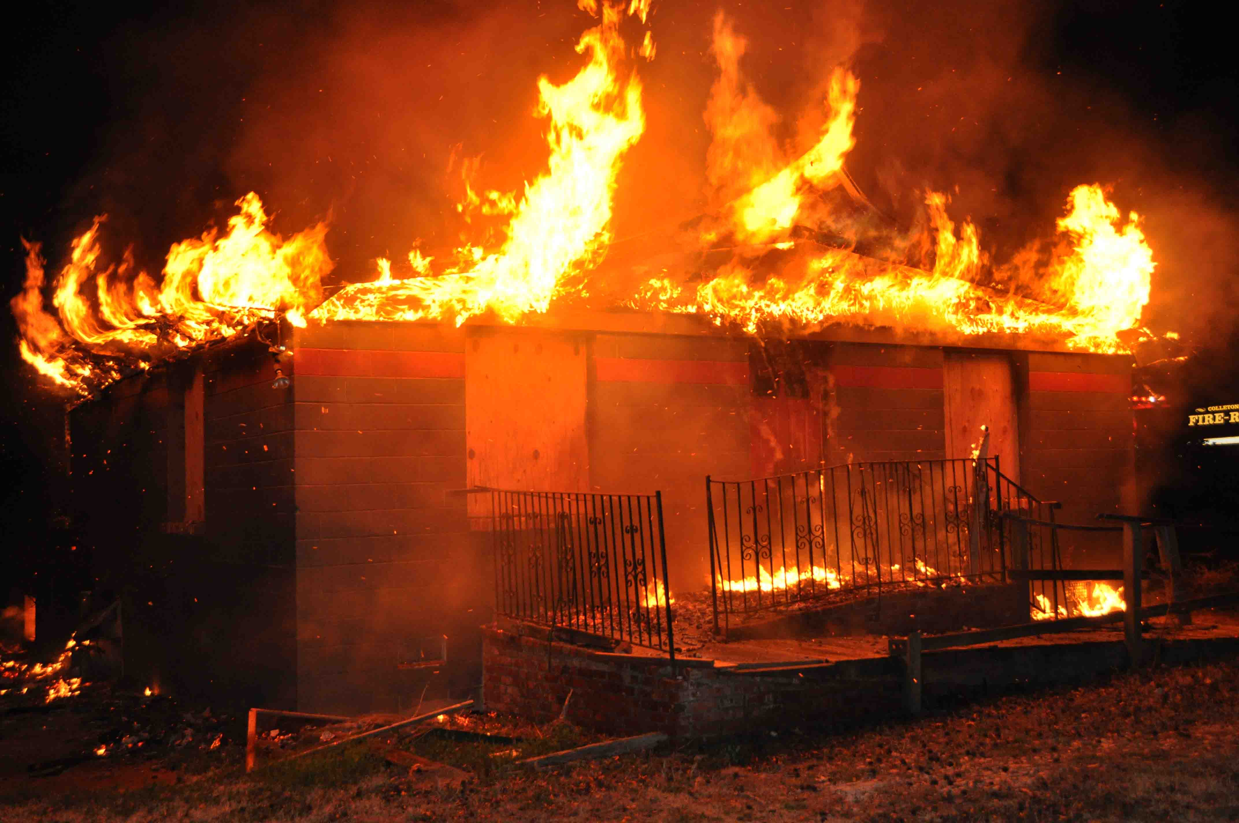 Building On Fire : Ccfr february
