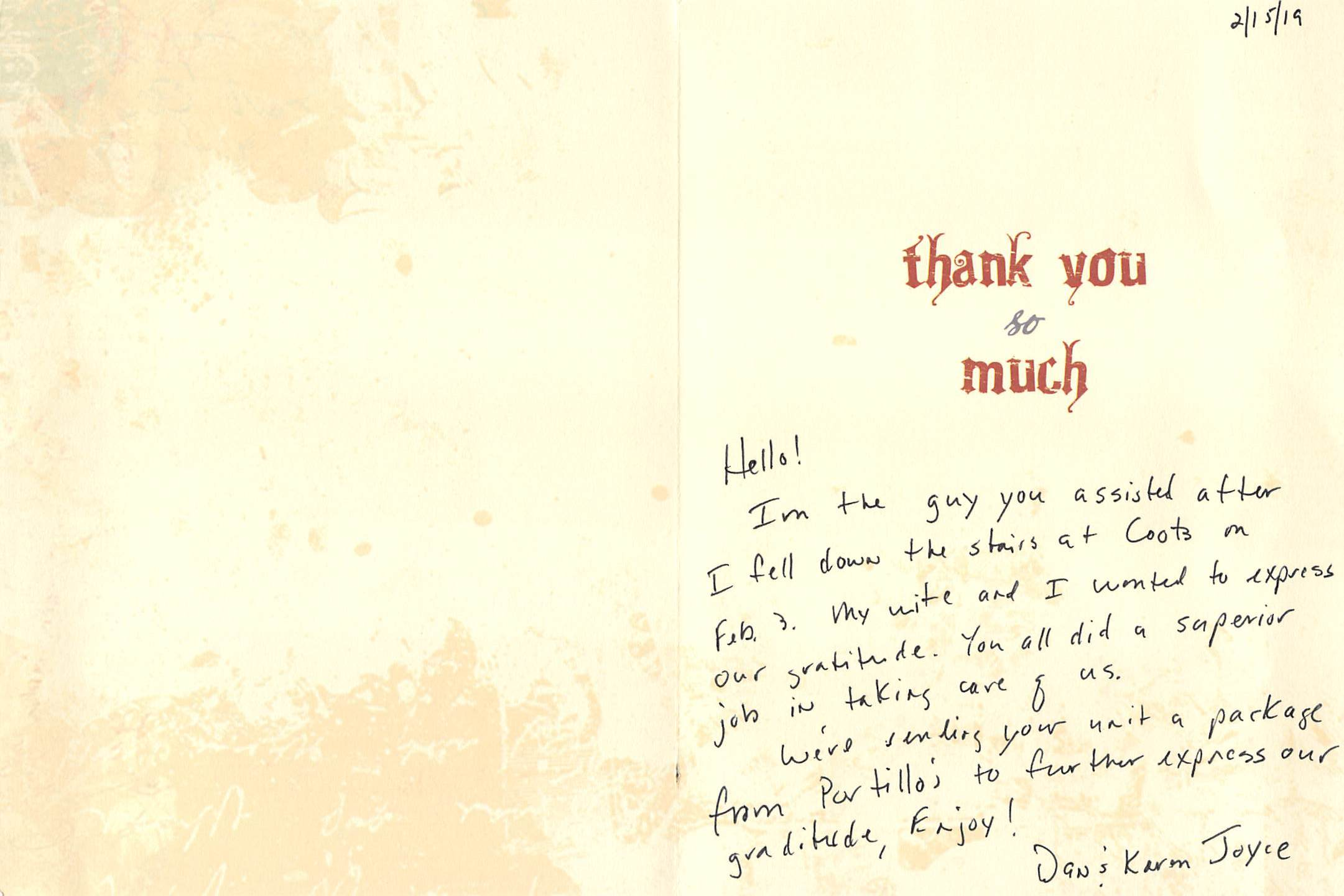 Thank You Letter To Team Members from www.colletonfire.com