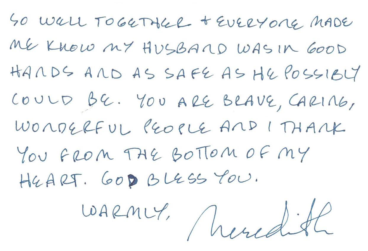 Thank You Letter To My Husband from www.colletonfire.com